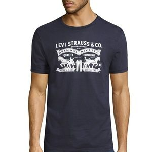 Levi's Two Horse Pull Graphic Tee